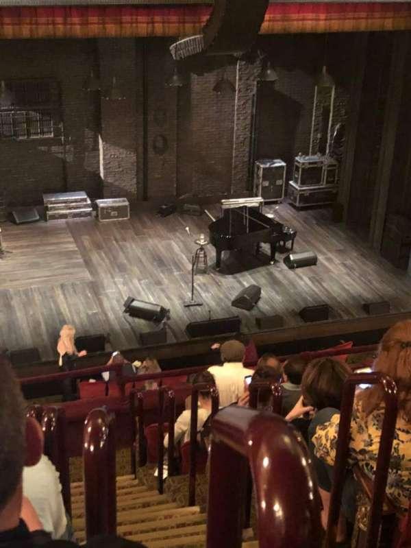 Walter Kerr Theatre, section: Mezz, row: H, seat: 1
