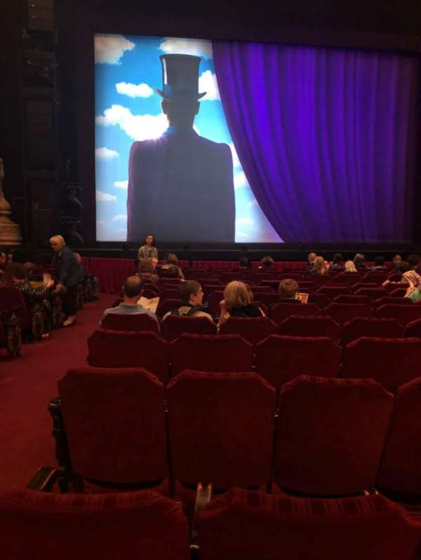 Oriental Theatre, section: Orch, row: N, seat: 101