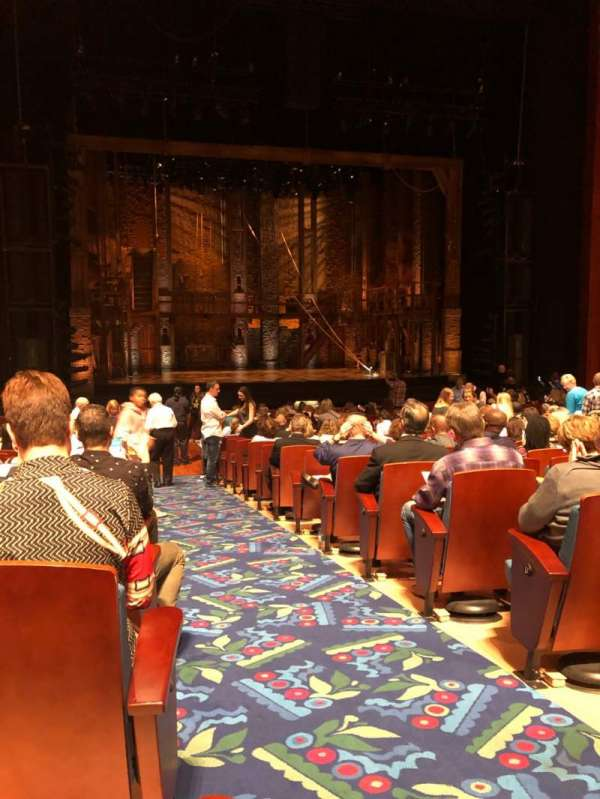 Au-Rene Theatre at the Broward Center, section: Orch, row: X, seat: 1