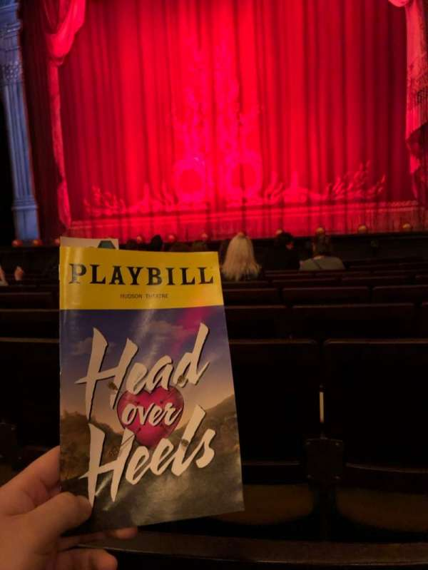 Hudson Theatre, section: Orch, row: J, seat: 119