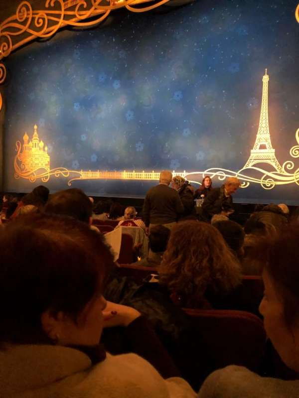 Broadhurst Theatre, section: Orch, row: K, seat: 6