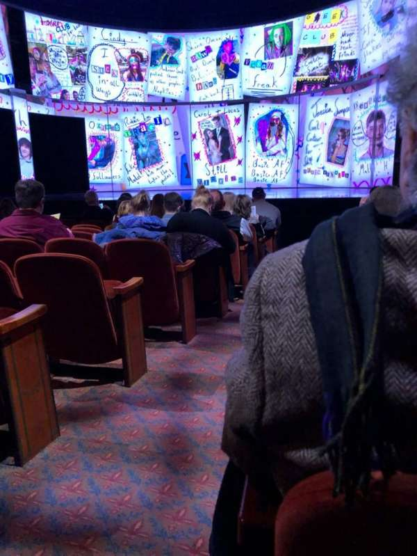 August Wilson Theatre, section: Orch, row: J, seat: 2