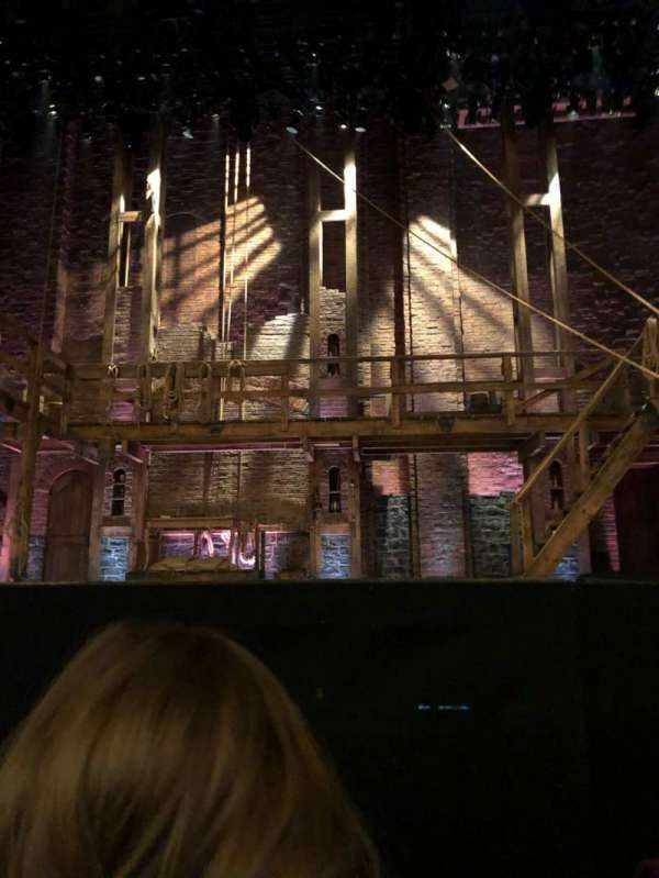 Richard Rodgers Theatre, section: Orch, row: A, seat: 106