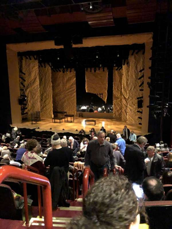 Stage 42, section: Orch, row: Q, seat: 2