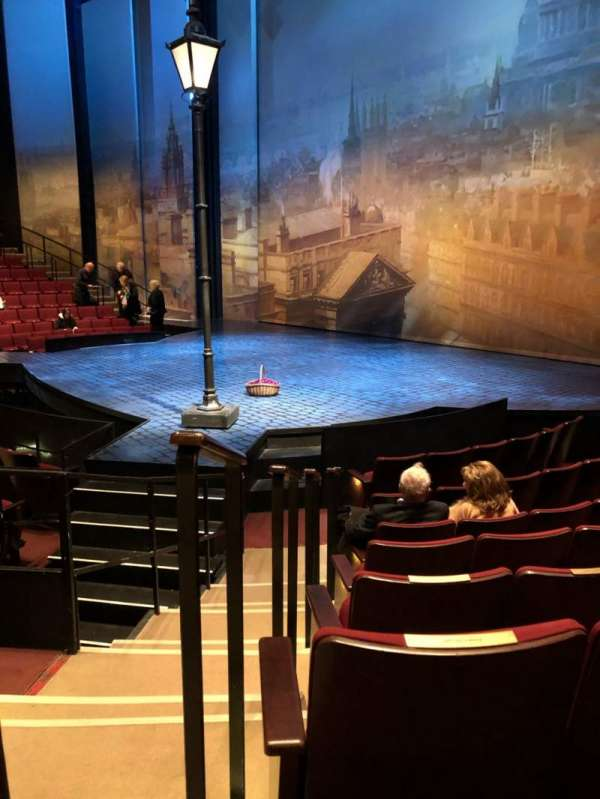Vivian Beaumont Theater, section: Orch, row: J, seat: 501