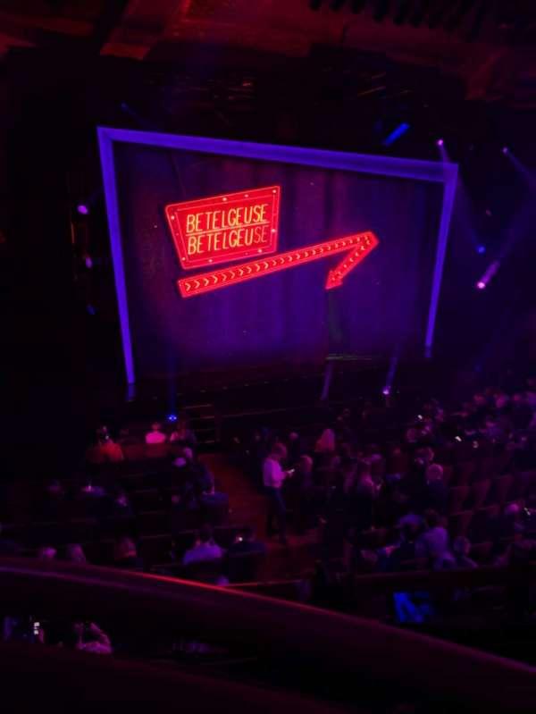 Winter Garden Theatre, section: Mezz, row: A, seat: 121