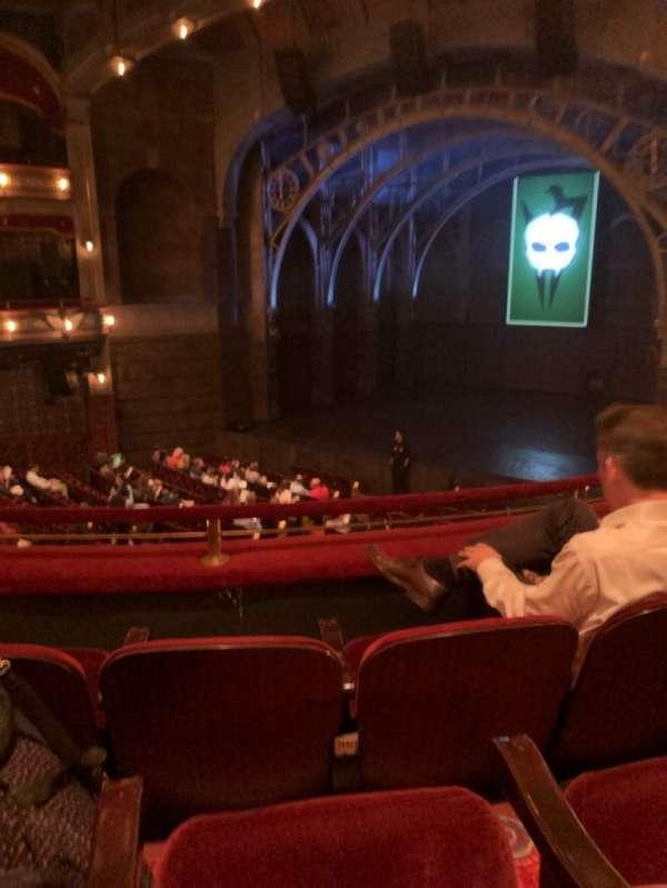 Lyric Theatre, section: Dress, row: C, seat: 8