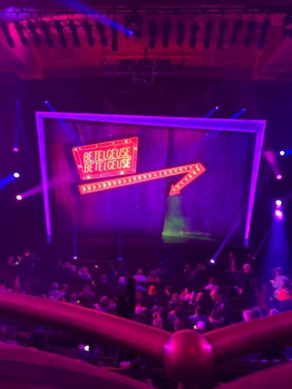Winter Garden Theatre, section: Mezz, row: A, seat: 114