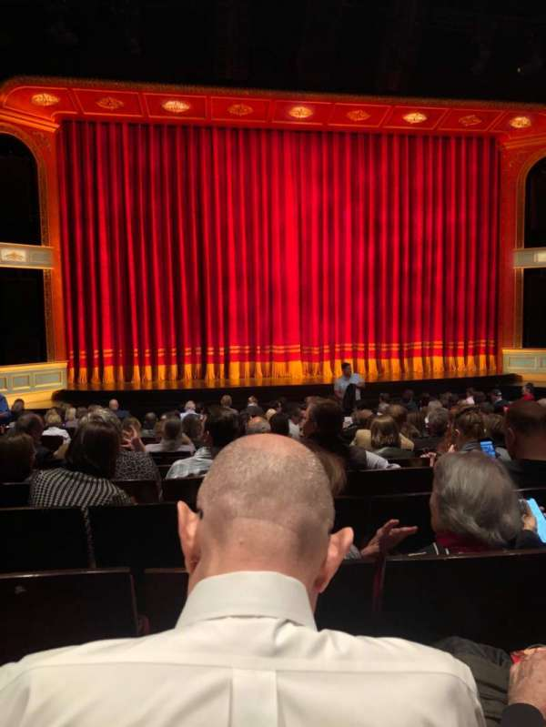 Marquis Theatre, section: Orch, row: Q, seat: 106