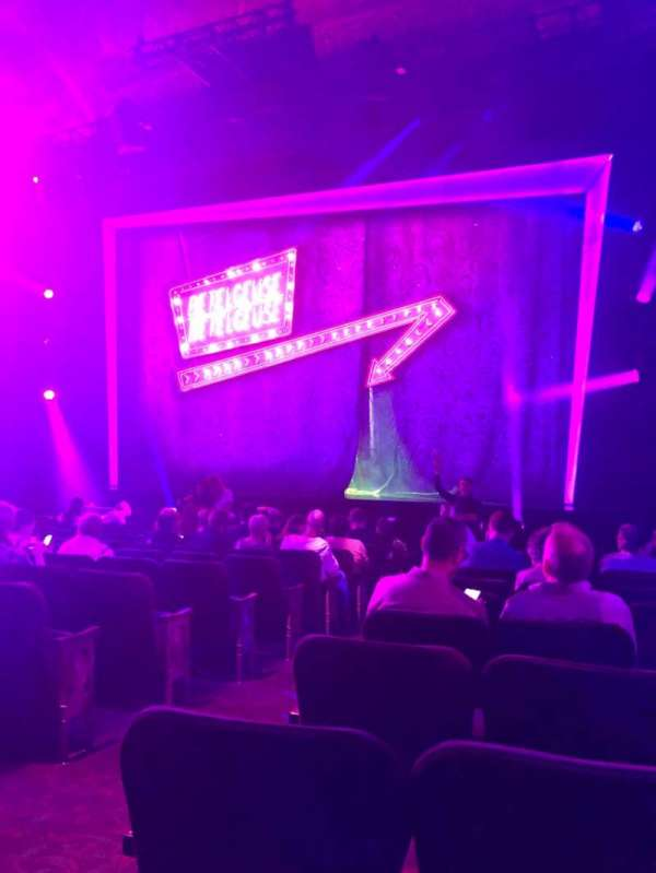 Winter Garden Theatre, section: Orch, row: N, seat: 4