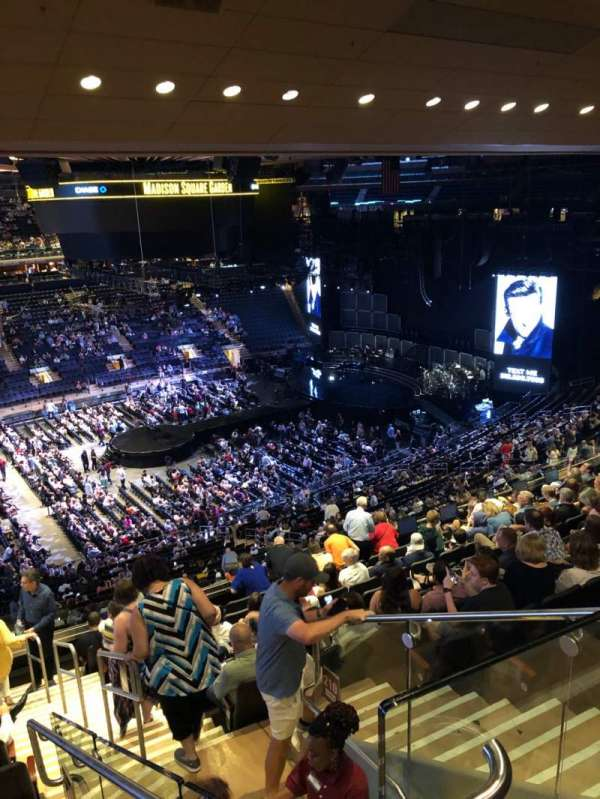 Madison Square Garden, section: 209, row: 12, seat: 21