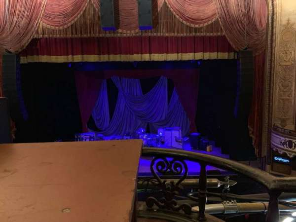 Orpheum Theatre (Los Angeles), section: Mezz, row: A, seat: 102