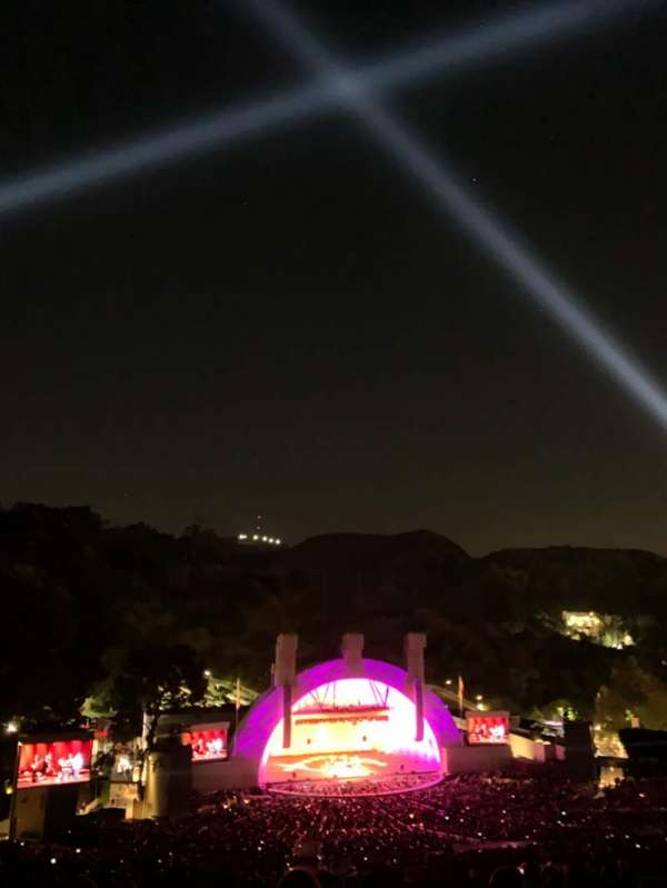 Hollywood Bowl, section: U1, row: 15, seat: 26