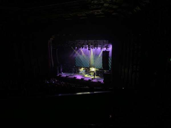 The Wiltern, section: Mezz, row: H, seat: 12