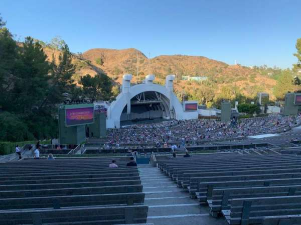 Hollywood Bowl, section: P3, row: 22, seat: 1