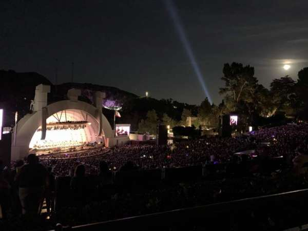 Hollywood Bowl, section: P3, row: 1, seat: 21