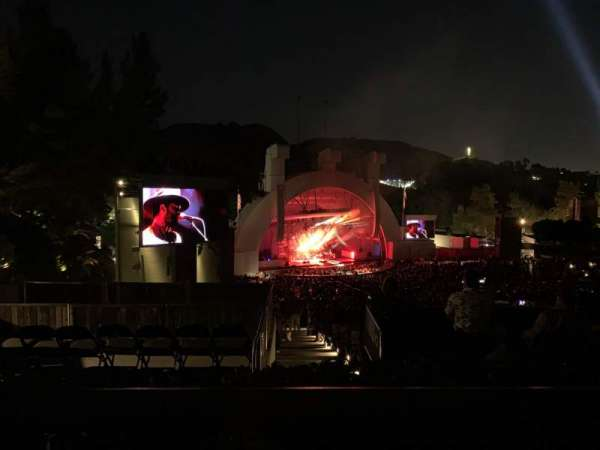 Hollywood Bowl, section: P3, row: A, seat: 29