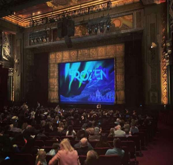 Hollywood Pantages Theatre, section: Orchestra R, row: XX, seat: 16