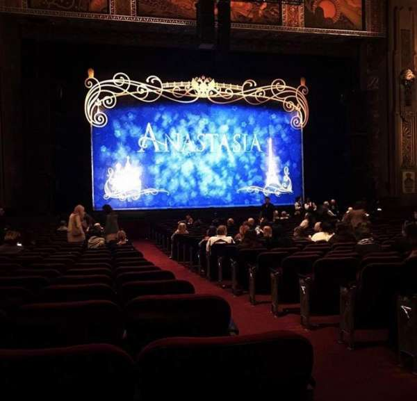 Hollywood Pantages Theatre, section: Orchestra lc, row: U, seat: 301