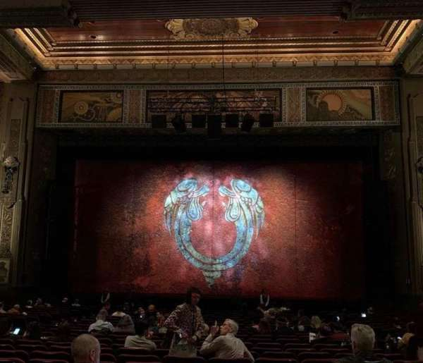 Hollywood Pantages Theatre, section: Orchestra C, row: NN, seat: 105