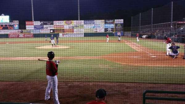 L.P. Frans Stadium, section: 112, row: 5, seat: 1
