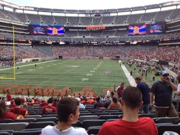 MetLife Stadium, section: 149, row: 25, seat: 5