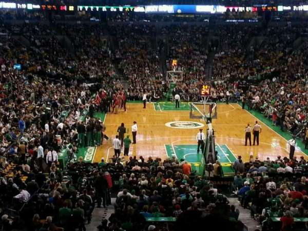 TD Garden, section: AT&T Sports Deck, row: B, seat: 34