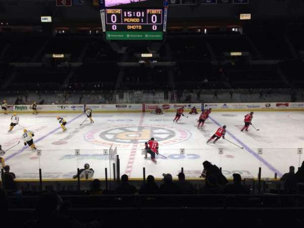 Dunkin' Donuts Center, section: 122, row: E, seat: 5