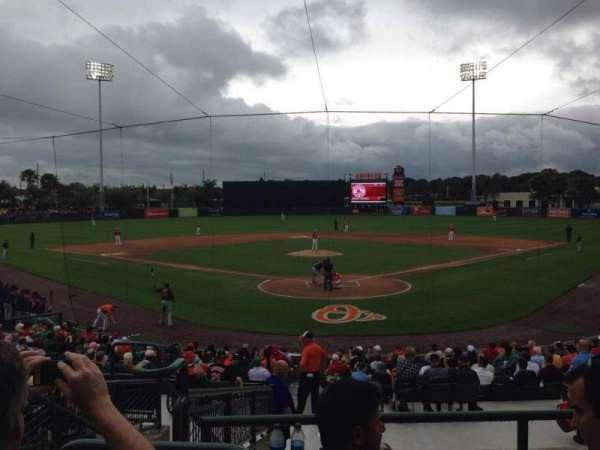 Ed Smith Stadium, section: 213, row: 9, seat: 16
