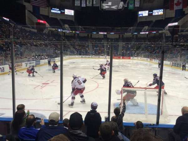 XL Center, section: 122, row: G, seat: 2