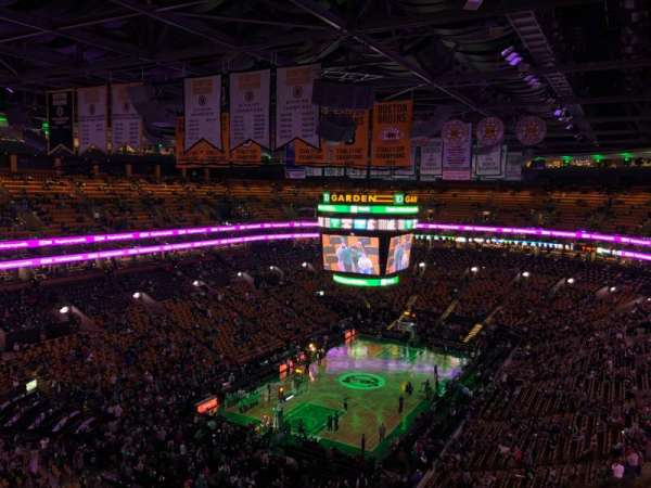 TD Garden, section: Bal 321, row: 11, seat: 19