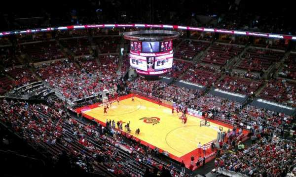 Value city arena section 317 home of ohio state buckeyes