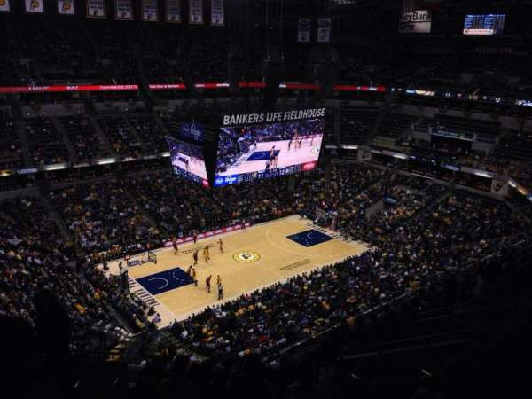 Bankers Life Fieldhouse, section: 227, row: 12, seat: 17