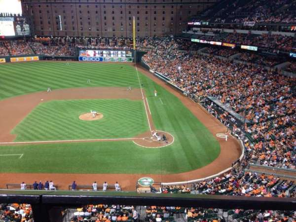 Oriole Park at Camden Yards, section: 348, row: 1, seat: 1