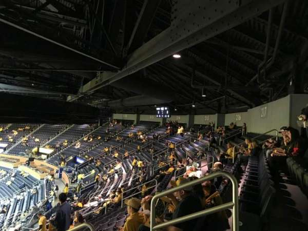 Crisler Center, section: 219, row: 40, seat: 3