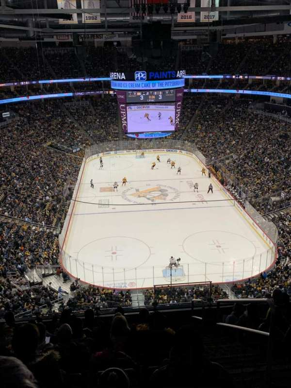 PPG Paints Arena, section: 212, row: J, seat: 2