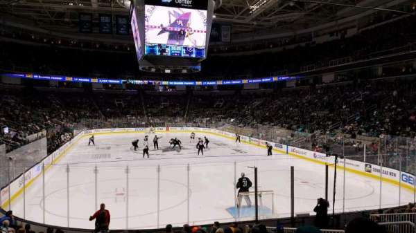 SAP Center at San Jose, section: 124, row: 14, seat: 12