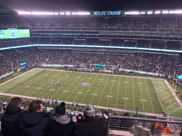 new products 93b9c 2225c MetLife Stadium, section 312, home of New York Jets, New ...