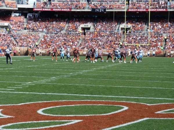 FirstEnergy Stadium, section: 148, row: A, seat: 7