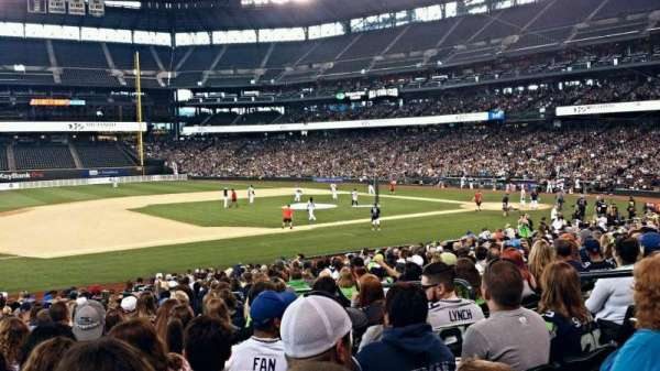 T-Mobile Park, section: 141, row: 21, seat: 7