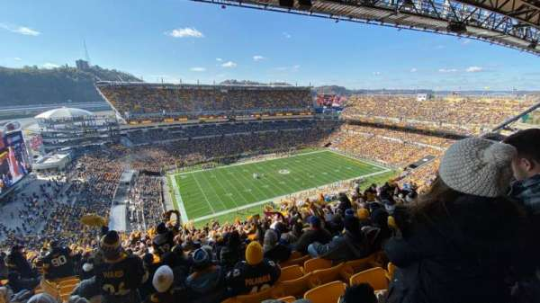 Heinz Field, section: 506, row: DD, seat: 12
