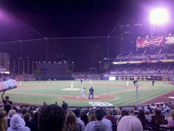 PETCO Park, section: 102 VIP, row: 20, seat: 11