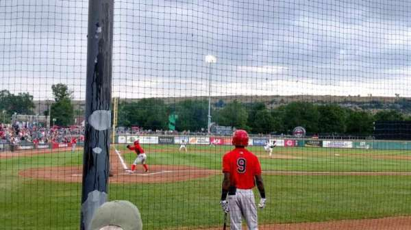 Dehler Park, section: 110, row: D, seat: 7