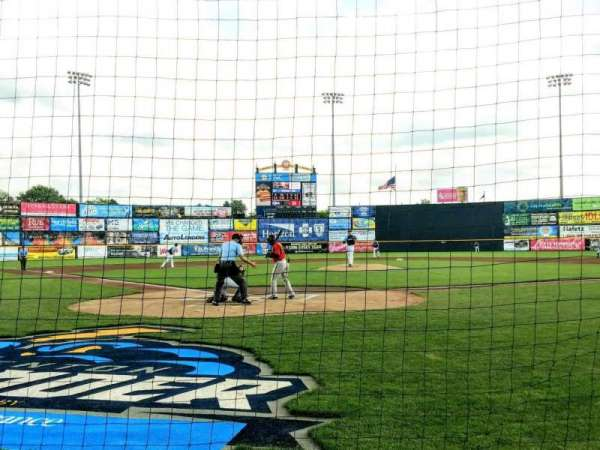 Arm & Hammer Park, section: 110, row: BB, seat: 1