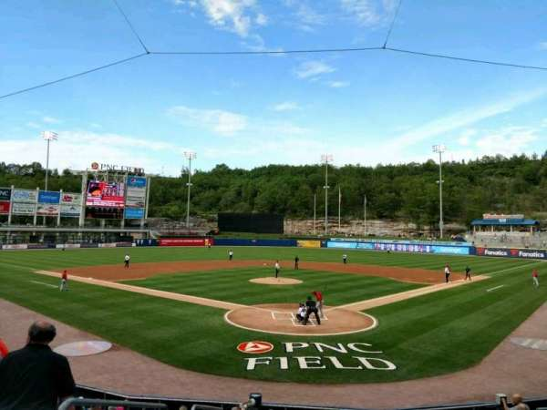 PNC Field, section: 21, row: 12, seat: 15