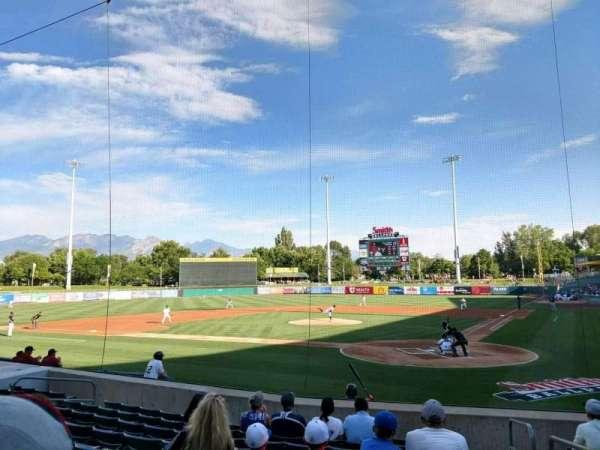 Smith's Ballpark, section: 15, row: 12, seat: 1