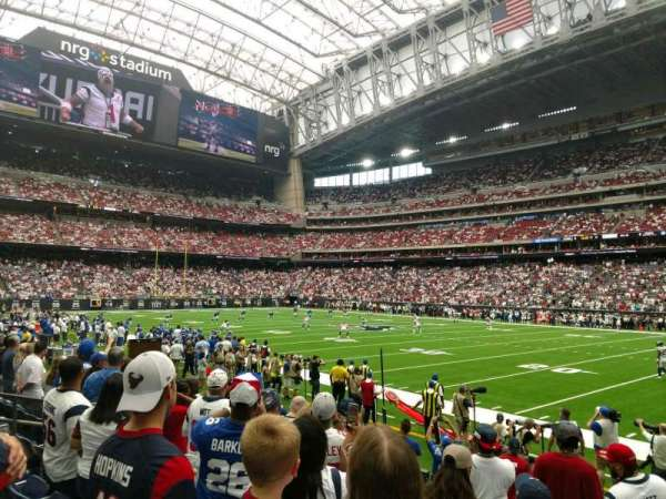 NRG Stadium, section: 123, row: G, seat: 7