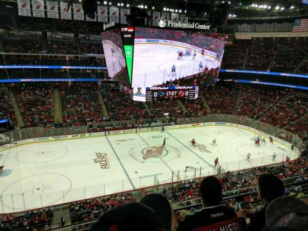 Prudential Center, section: 127, row: 3, seat: 14