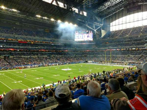 Lucas Oil Stadium, section: 244, row: 3, seat: 20