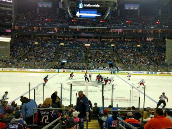 Nationwide Arena, section: 114, row: N, seat: 18